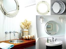 Coastal Bathroom Mirrors by Vanities Best 25 Nautical Mirror Ideas On Pinterest Nautical