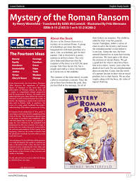 mystery of the roman ransom study guide with answer key