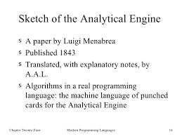 编程语言的历史