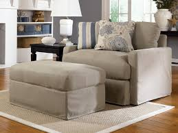 oversized chair and ottoman slipcover comfortable oversized chairs with ottoman homesfeed in slipcover for