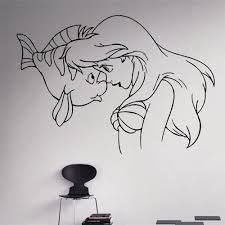 Princess Wall Decals For Nursery by Compare Prices On Ariel Wall Decal Online Shopping Buy Low Price