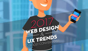 2017 design trends infographic 2017 web design ux trends to boost conversions the