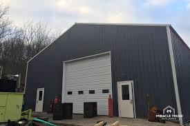 easy assemble diy metal garage or shop miracle truss