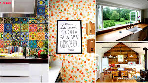 Decorating Ideas For Kitchen Walls Fine Kitchen Wall Decorating Ideas Decor Pictures Incredible