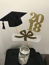 graduation cap centerpieces graduation party decorations 2018 graduation centerpiece