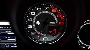 ferrari speedometer driven ferrari california t handling speciale