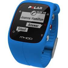 polar m400 gps running watch with heart rate walmart com