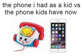 Kid On Phone Meme - funny iphone joke kid meme phone toy image 2990472 by
