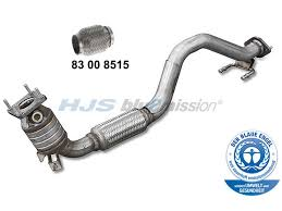 audi a3 catalytic converter audi a3 mk2 8p 03 13 hjs catalytic converter bluemission