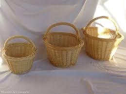 panier rond en osier grand panier ovale en osier artisanat vente en ligne