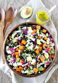 Salad Main Dish - sweet potato and black bean salad two peas u0026 their pod