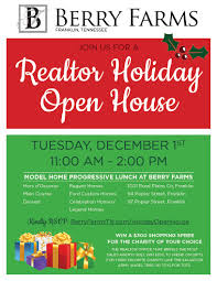 holiday lunch invitation realtor progressive lunch at berry farms berry farms