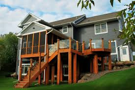 Decks With Roofs Pictures by Residential Decks And Porches Jg Hause Construction