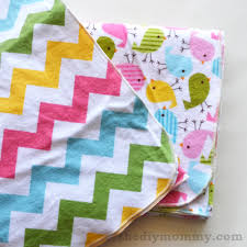 how to finish baby receiving blankets with a serger the diy mommy