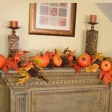 fall garland floral home decor deluxe pumpkin berry fall leaf garland reviews