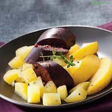 comment cuisiner le boudin noir boudin noir aux deux pommes recette de cuisine seb