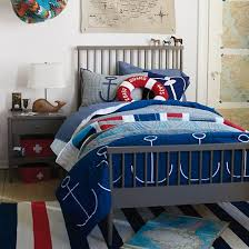 Nautical Bed Set Boys Bedding Nautical Buoy Bedding Set The Land Of Nod Client