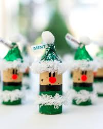 christmas crafts with kids cork elves and wines