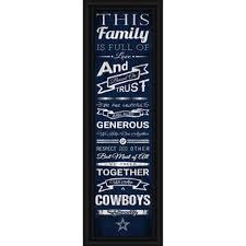 Dallas Cowboys Home Decor Dallas Cowboys Wall Art Home Office And Nflshop Com
