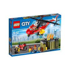 Picwic Lego by Lego City Fire Response Unit 60108 20 00 Hamleys For Lego