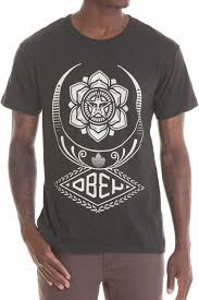 obey clothing flying lotus recycle t shirt t shirts obey clothing uk store