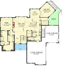 open floor house plans with walkout basement bright design open floor plans with walkout basement optional walk
