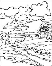 coloring pages for landscapes coloring page landscapes picgifs com