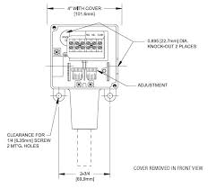 differential pressure and vacuum switch compact explosion