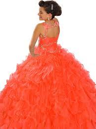 Wedding Dresses For Kids Orange Dress For Kids The Trend Of The Year U2013 Fashion Gossip