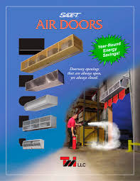 Curtron Air Curtain Tmi Air Curtain Air Door Catalogue Tmi Llc Pdf Catalogue