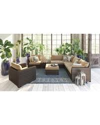 armless chair and ottoman set spectacular deal on june collection od 472 8pcseclc 8 piece outdoor