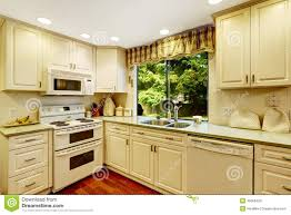 simple kitchen interior in old house stock photo image 45056428