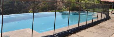 temporary pool fencing no holes pool fence