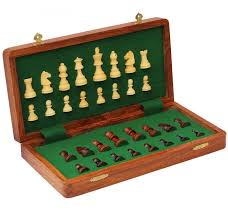 buy 10 inch magnetic chess set at official staunton for only