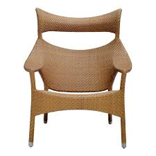 Janus Et Cie Outlet by Amari High Back Lounge Chair U2013 Caramel Cabana Home