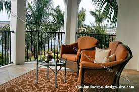 Tropical Patio Design Tropical Terrace Patio Ideas