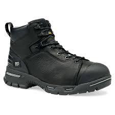 timberland pro 6 endurance pr men black fg leather men boots