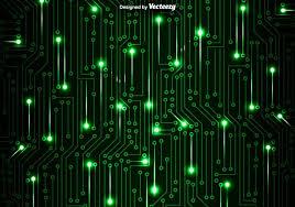 Conhecido Fundo verde do vetor da placa de circuito - Download Vetores e  @XX83