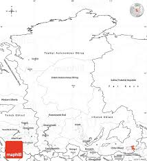 Blank Russia Map by Blank Simple Map Of Eastern Siberia