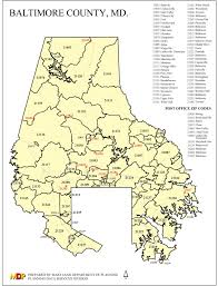 Map Of Md Baltimore County Real Estate Zip Code Map U2013 The Sachs Report