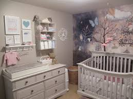 Mystical Forest Mural Nature Mural Baby Nursery Forest Wall Mural Stencil Kit For Kids Room Ba
