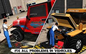 superheroes trucks car garage monster real truck mechanic workshop android apps on google play