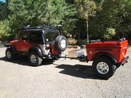 jeep wrangler cargo trailer jeep wrangler road cer trailers and jeep 4x4 cers by tentrax