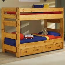 Pine Bunk Bed Trendwood Bunkhouse Wrangler Bunk Bed With Storage