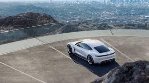 porsche mission e wheels porsche mission e electric car tesla rival photos features