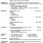 Resume Template Sample Resume Template Format Combinationresumetemplategif 1gif Gfyork Com