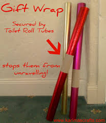 wrapped toilet paper use toilet paper rolls to keep wrapping paper rolls tightly