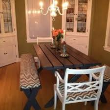 Picnic Dining Room Table Picnic Table As Dining Room Table Dining Room Photo Gallery