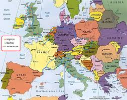 Where Is Italy On The World Map by Where Is Europe On The Map Roundtripticket Me