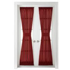 Deep Red Velvet Curtains Door Curtains U0026 Door Panels Jcpenney